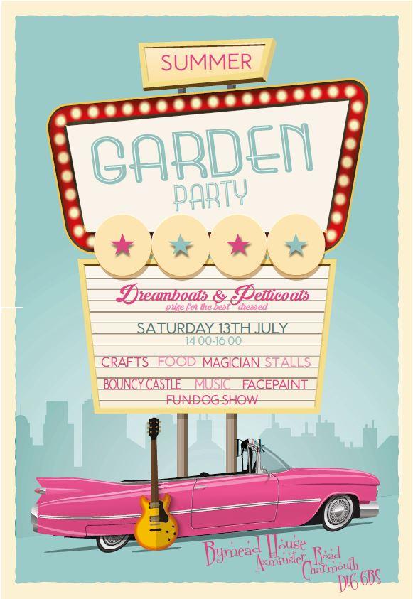 Garden Party 2019 Poster